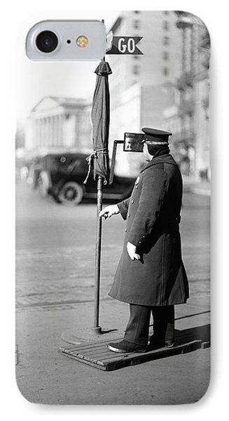 Traffic Officer IPhone Case by Library Of Congress