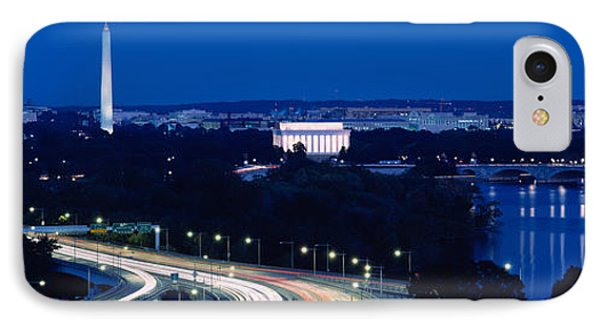 Traffic On The Road, Washington IPhone 7 Case by Panoramic Images