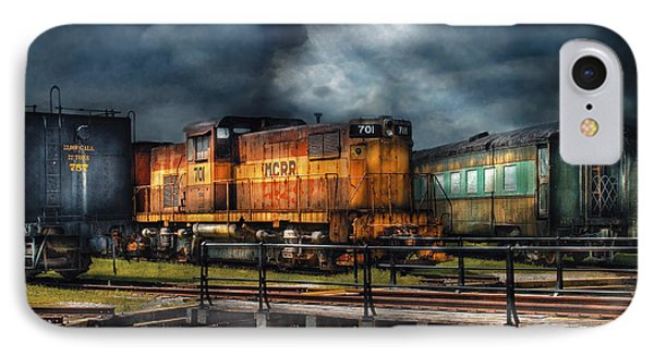 Train - Let's Go For A Spin Phone Case by Mike Savad