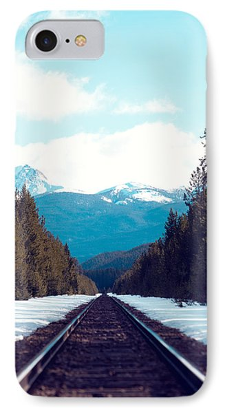 Train To Mountains IPhone Case by Kim Fearheiley