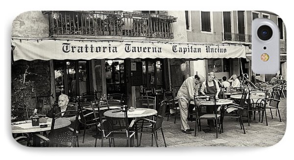 Trattoria In Venice  Phone Case by Madeline Ellis