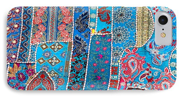 Travel Shopping Colorful Tapestry 2 India Rajasthan IPhone Case by Sue Jacobi