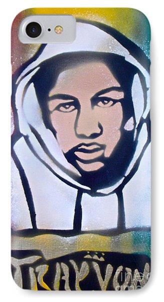 Trayvon Rasta IPhone Case by Tony B Conscious