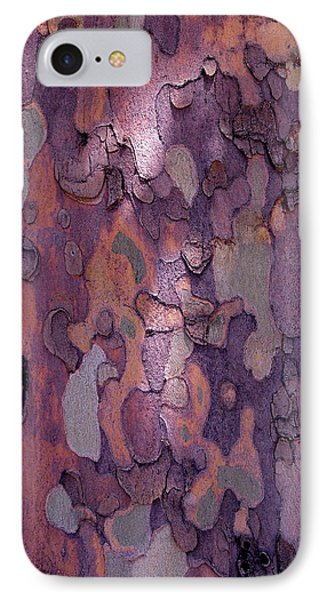 Tree Abstract IPhone Case by Rona Black
