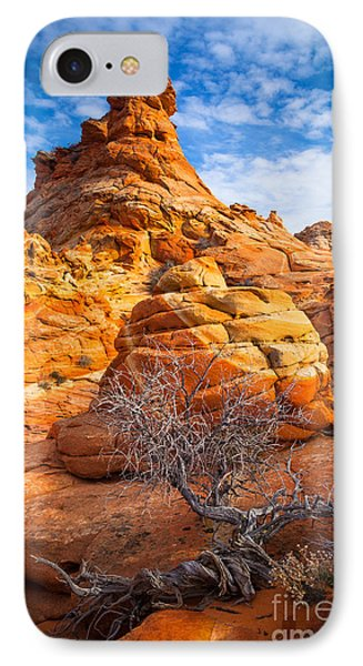 Tree And Hoodoo IPhone Case by Inge Johnsson
