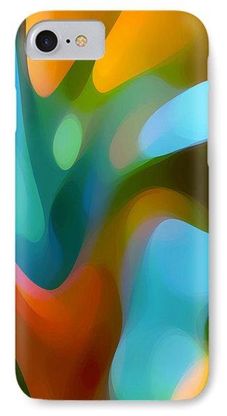 Tree Light 3 Phone Case by Amy Vangsgard