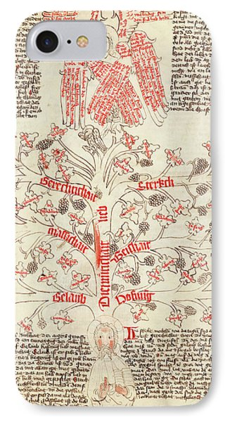 Tree Of Life Allegory IPhone Case by Library Of Congress