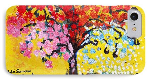 Tree Of Life Phone Case by Ramona Matei