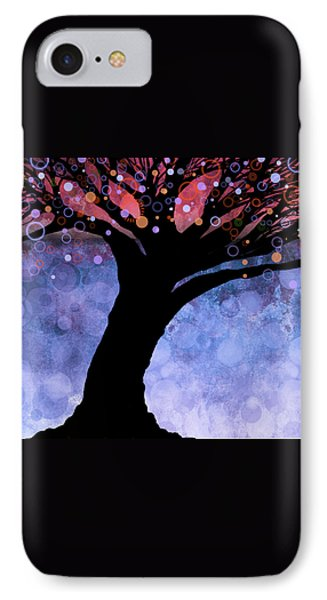 Tree Of Life Three Phone Case by Ann Powell