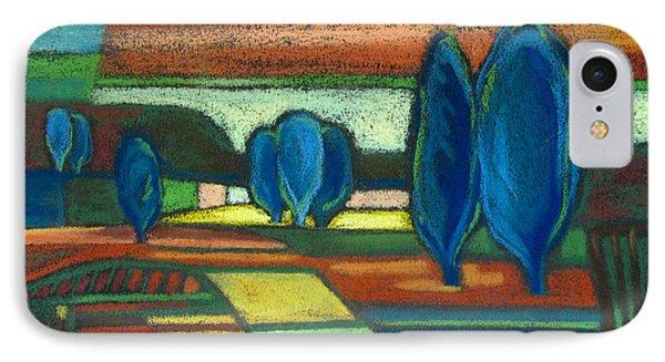 Trees Of Blue Phone Case by Gergana Valkova