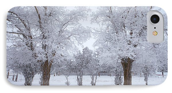 Trees Of Winter IPhone Case by Darren  White