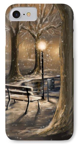 Trees IPhone Case by Veronica Minozzi
