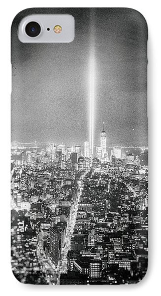 Tribute In Light - New York City IPhone Case by Vivienne Gucwa