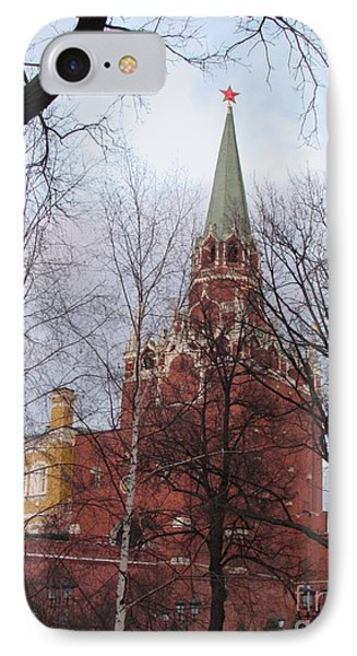 Trinity Tower At Dusk IPhone 7 Case by Anna Yurasovsky