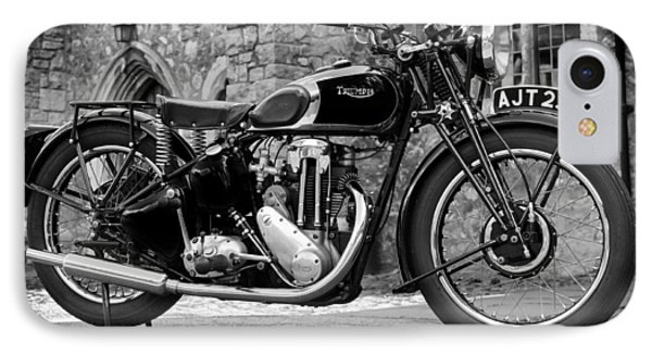 Triumph De Luxe 1939 IPhone Case by Mark Rogan