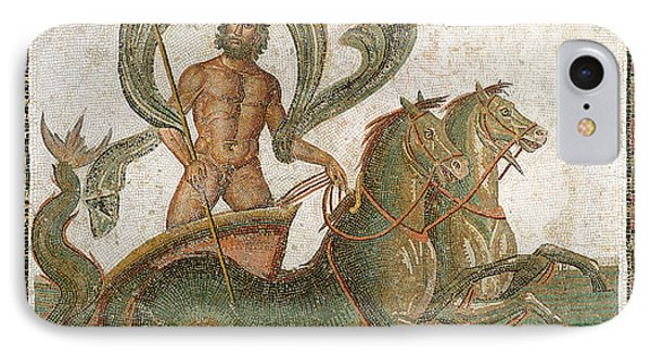 Triumph Of Neptune IPhone 7 Case by Roman School