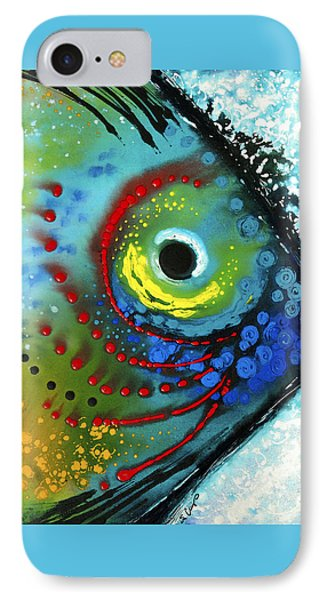 Tropical Fish - Art By Sharon Cummings IPhone 7 Case by Sharon Cummings