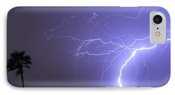 Tropical Thunderstorm Night  Phone Case by James BO  Insogna