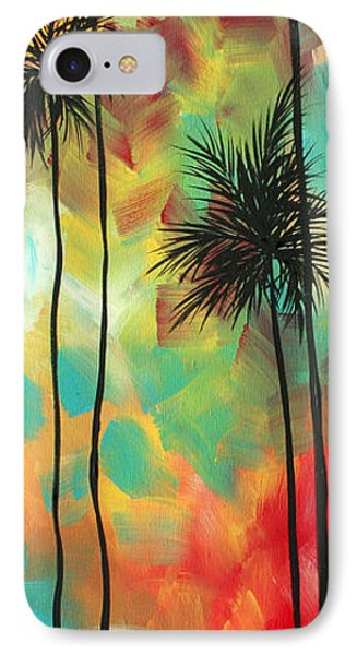 Tropics By Madart Phone Case by Megan Duncanson