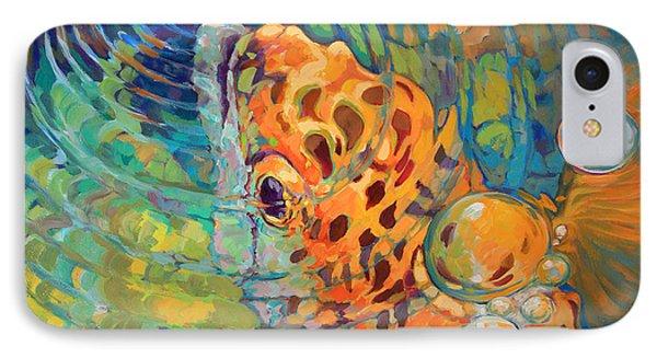 Trout Rise IPhone Case by Savlen Art