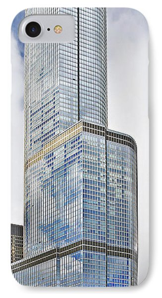 Trump Tower Chicago - A Surplus Of Superlatives Phone Case by Christine Till