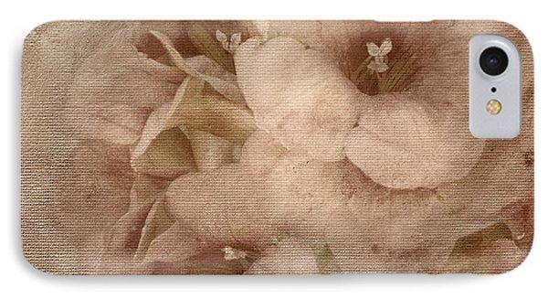Trumpet Flowers #2 IPhone Case by Betty LaRue