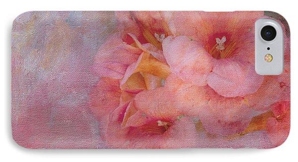 Trumpet Flowers #6 IPhone Case by Betty LaRue