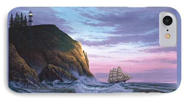 Trusting The Light IPhone Case by Del Malonee