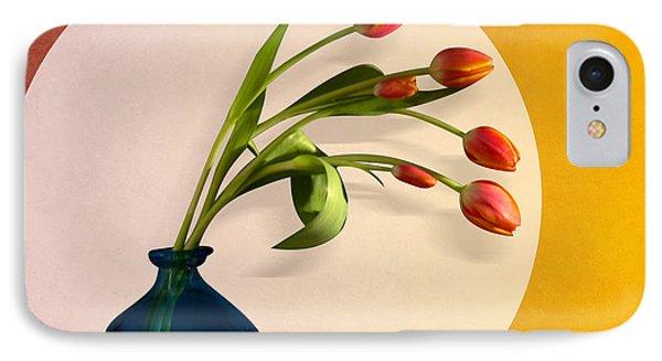 Tulips 3 IPhone Case by Mark Ashkenazi