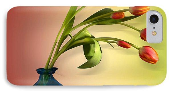 Tulips 5 IPhone Case by Mark Ashkenazi