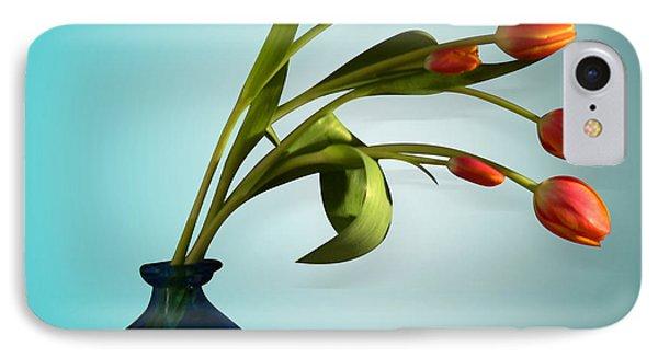 Tulips 6 IPhone Case by Mark Ashkenazi