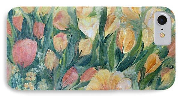 Tulips I Phone Case by Joanne Smoley