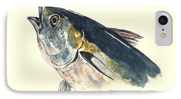 Tuna Fish IPhone Case by Juan  Bosco
