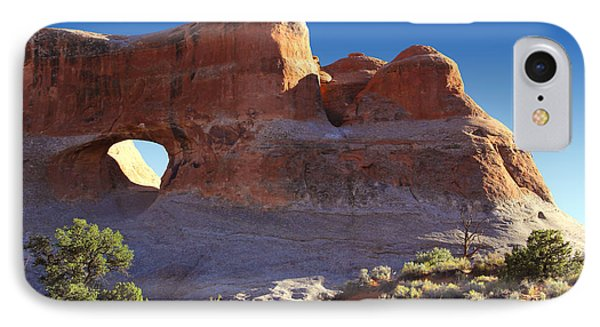 Tunnel Arch - Arches National Park Phone Case by Mike McGlothlen