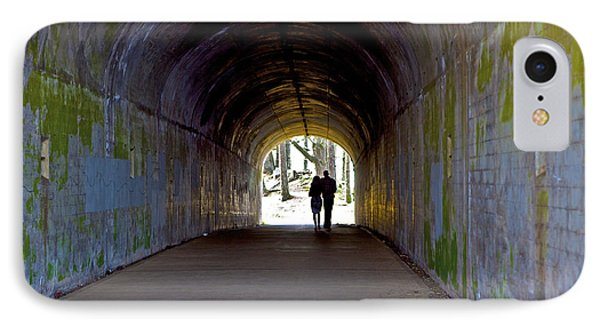 Tunnel Of Love IPhone Case by SC Heffner