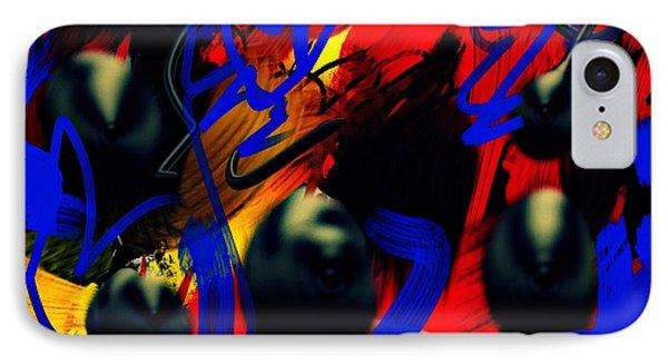 Turmoil IPhone Case by Paulo Guimaraes
