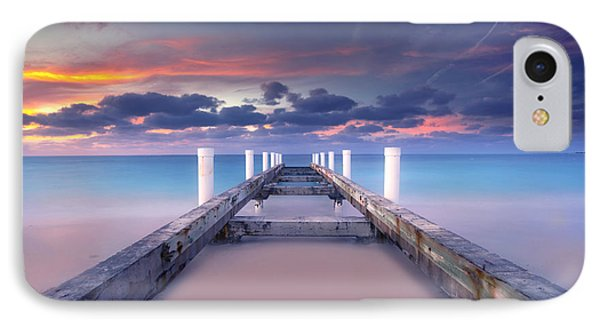 Turquoise Paradise IPhone Case by Marco Crupi