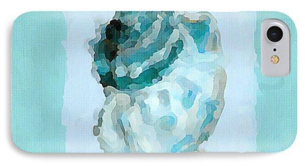 Turquoise Seashells Vi IPhone Case by Lourry Legarde
