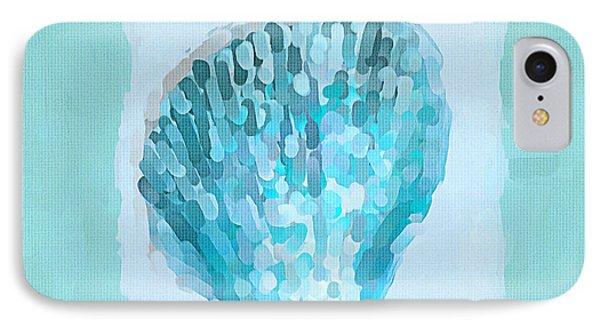 Turquoise Seashells Vii IPhone Case by Lourry Legarde