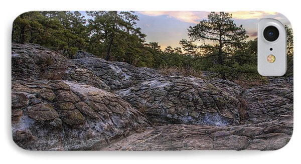 Turtle Rocks Atop Petit Jean Mountain - Arkansas IPhone Case by Jason Politte