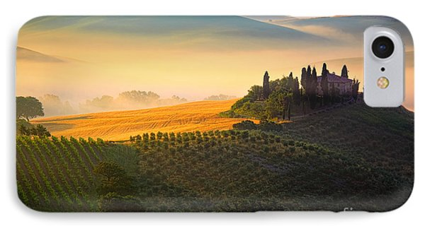 Tuscan Dawn Phone Case by Inge Johnsson