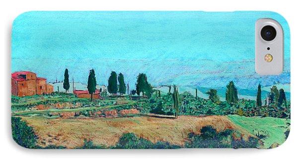 Tuscan Farm Phone Case by Allan P Friedlander