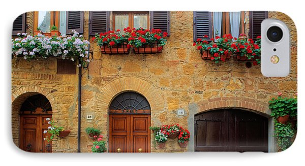Tuscan Homes Phone Case by Inge Johnsson
