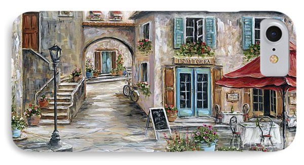 Tuscan Street Scene IPhone Case by Marilyn Dunlap