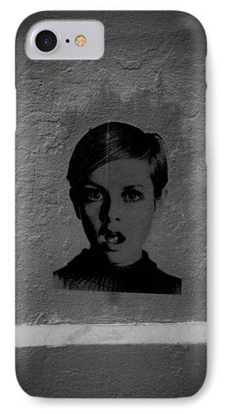 Twiggy Street Art Phone Case by Louis Maistros