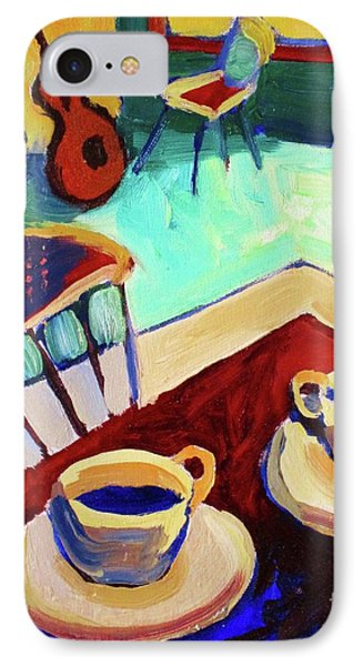 Twilight Coffee Cafe Phone Case by Frederick  Luff