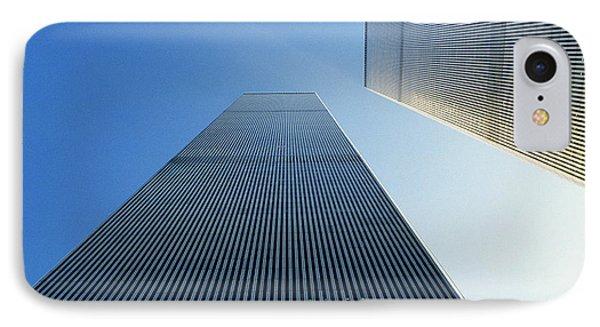 Twin Towers Phone Case by Jon Neidert