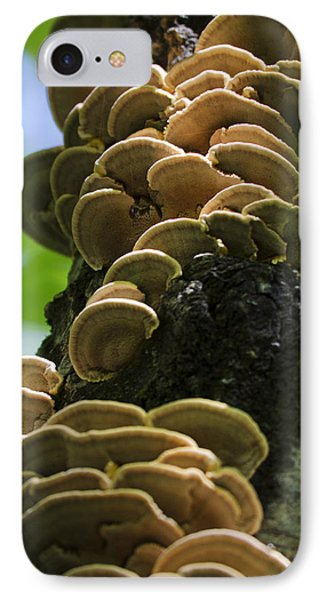 Twist Of Shrooms Phone Case by Christina Rollo