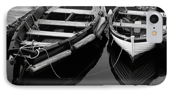 Two At Dock IPhone Case by Karol Livote