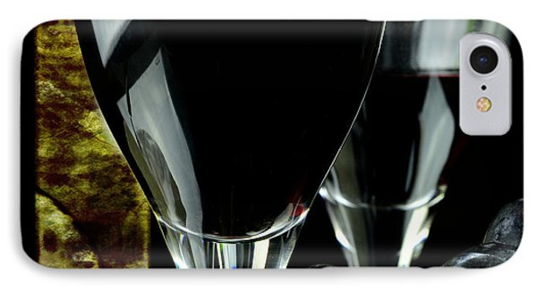 Two Glasses With Red Wine IPhone Case by Toppart Sweden